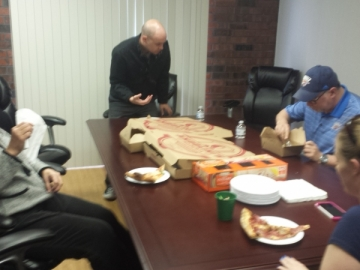 Free Pizza Friday at TuCasa Realty