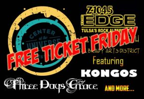 COU FREE TICKET FRIDAY