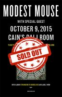 modest mouse sold out