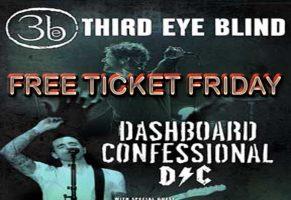 Third Eye Blind Free Ticket Friday