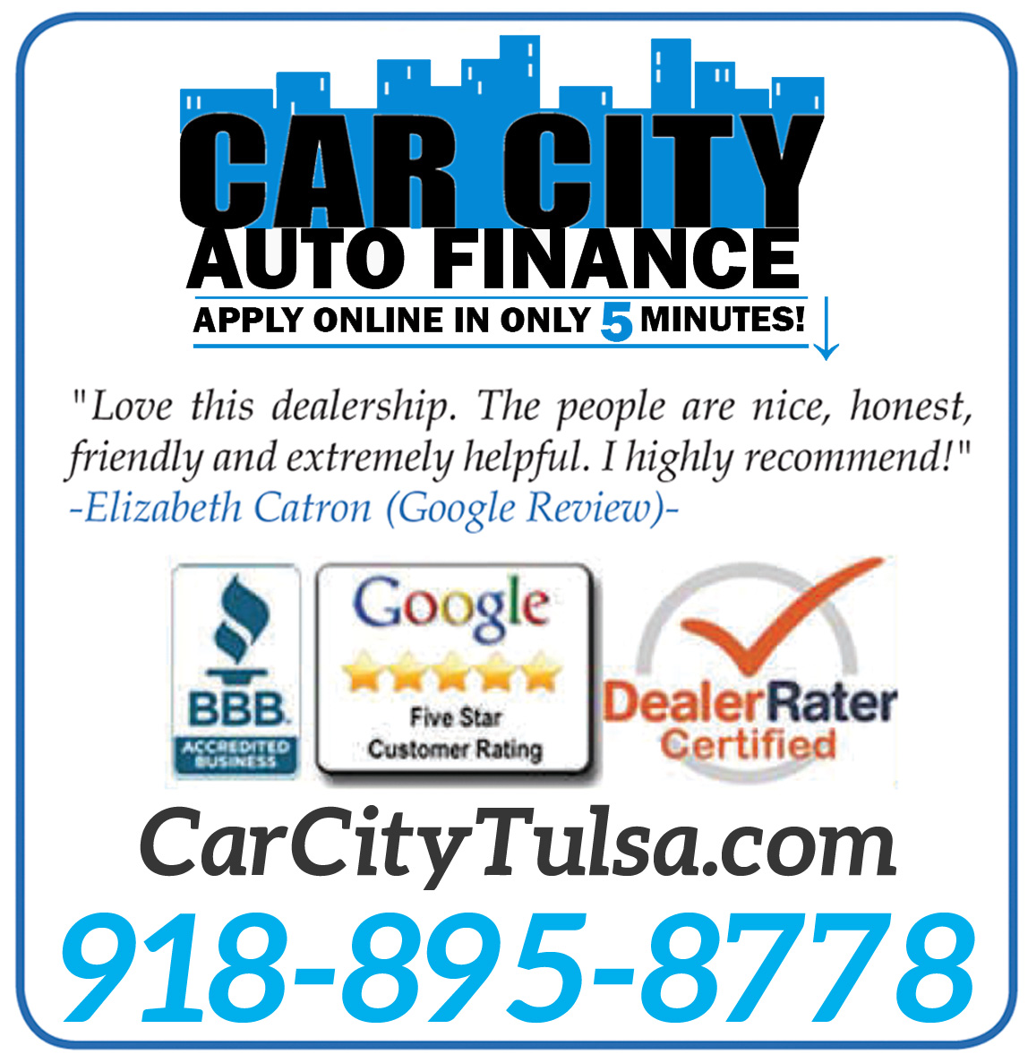 Car City Auto Finance Logo