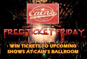 FREE TICKET FRIDAY CAINS copy