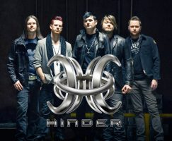 hinder with logo