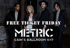 METRIC MASTER Free Ticket Friday