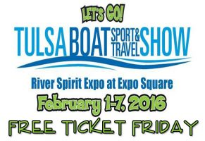 Tulsa Boat Show Master Free Ticket Friday