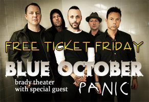 Blue October FTF