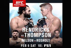 UFC FIGHT NIGHT MASTER