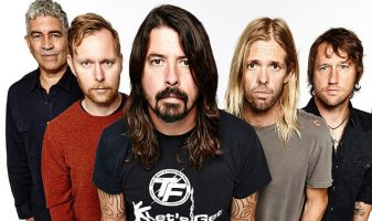 Foo Fighter band photo
