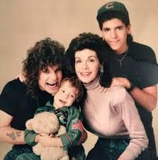 Jason Gilardi with mom Ozzy and Jack