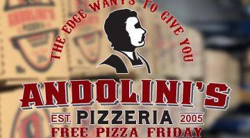 Win free Andolini's Pizza!