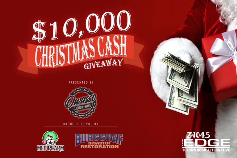 Win $10,000 In Christmas Cash!