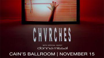 CHVRCHES 11/15