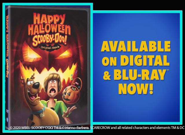 Win Happy Halloween Scooby-Doo!